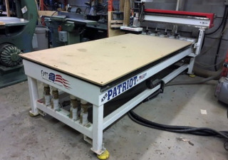 Used Freedom Patriot Fmt-F35-4-8-7 Cnc Router, 4′ X 8′ Table, New In 2012