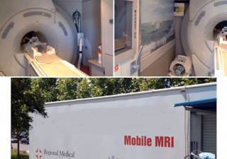 GE 1.5T Mobile Mri 9X Platform In 48′ Trailer