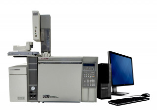 HP 5890 Series II GC with HP 5972 MSD & 7673 Autosampler