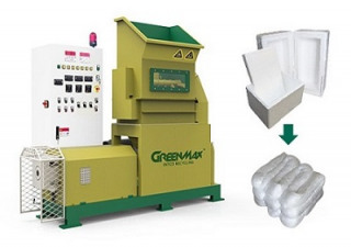 Machine de densification GREENMAX M-C200 en polystyrène