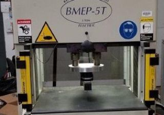 Tyco ASG BMEP-5T Benchtop Manual 5 Ton Electric Press (2000)