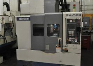 1998 Mori Seiki SV-500/50 Taper VMC