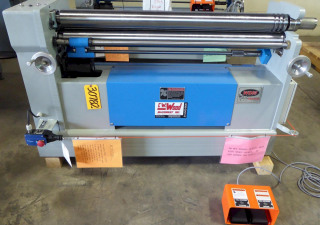 "4' X 12 Ga. Wdm Initial Pinch Bending Roll No. B-4-48, Hydraulic, 4"" Diameter Rolls, New, In Stock"