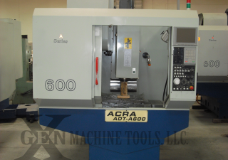 "Used 23""x15""x18"" Acra Drilling & Tapping CNC Machining Center with Mitsubishi Controller"