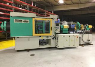 Arburg 220-Ton 2-Color Plastic Injection Molding Machine 2001