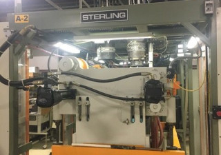 Sterling Model SE303D Dual 3 Pound Accumulator Head Blow Molding Machine