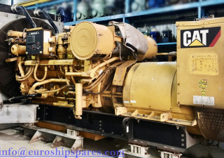CAT 3512 Low Running-1354hrs, Year 2012 Radiator Cooled Caterpillar Diesel Generator set For Sale Only 1354 Running Hour Since Original