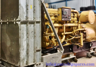 CAT 3512B Low Running-1354hrs, Year 2012 Radiator Cooled Caterpillar Diesel Generator set For Sale Only 1354 Running Hour Since Original