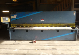 """Used 1/4"""" x 12' Wysong Hydraulic Shear with Front Operated Programmable Backgauge"""