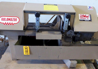 "9"" X 16"" Kalamazoo Horizontal Band Saw No. H9Aw, 1"" Blade, 62-390 Fpm, 2 Hp, Coolant, Nice"
