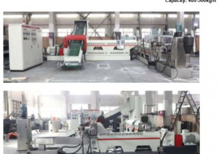 Ligne de film de granulation à deux étages Purui Ml 130/33 (400-500 kg / heure)