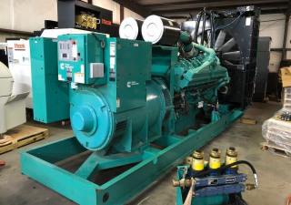 Générateur diesel Cummins de 1250 kilowatts