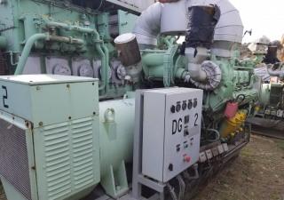 MTU 8V 356 / 640 kW Genset