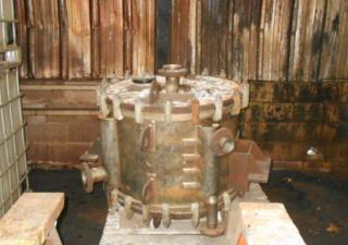 880 Sq.Ft. Alfa Laval Spiral Heat Exchanger