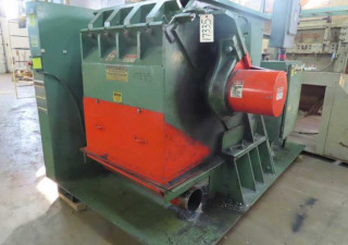 125 Hp Granutec Tfg36356-125 Granulator 3 Knife Open Rotor