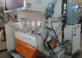 100 Hp Granutec Tfg2048-100 Granulator 3 Knife Open Rotor