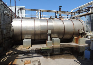8,200 Gallon Stainless Steel Horizontal Tank