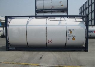 Used Cimc Tank Container With The Capacity 26,000 Liters