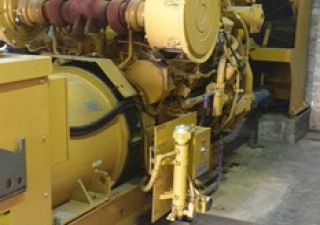 Used Caterpillar Type 3508 Std Diesel Generator 800 Kw