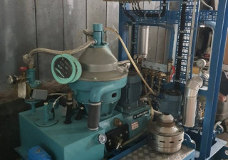 Disc Separator Alfa Laval Type Mmpx 303 For Mineral Oils, 1700 Ltr/H
