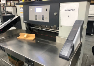 2019 Polar 66 Fully Programmable Paper Cutter
