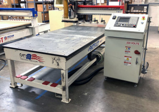 Used 2013 Freedom 3 Axis Cnc Router C622, 4′ X 8′ Table