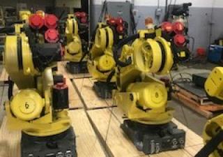 Used Fanuc R2000Ia/200Fo 6-Axis Robots
