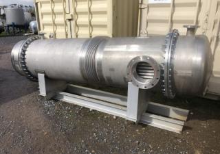 45 Sq. M. Horizontal Shell And Tube Heat Exchanger