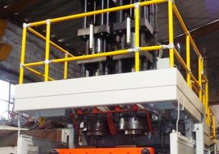 Rebuilt Uniloy 350-C3 Blow Molding Machine