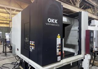 Okk Vp600 Bridge-Style Cnc Vertical Machining Center