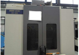 MAZAK QUICK TURN 15N LATHE + MOREI-SEIKI GV503 MACHINING CENTER