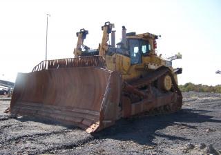 Tracteur sur chenilles CAT D11T 2008