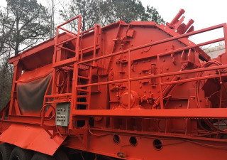 999 EAGLE CRUSHER Model 500-05CV Portable Impact Crushing Plant,