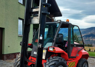 All-terrain forklift Manitou M50-2 5t 2016 M50