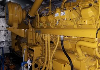 CATERPILLAR 3512C /1550 kW FOR SALE