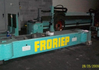 120/132″ Froriep Double-Column Vertical Boring Mill