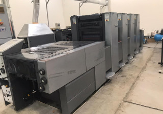 Heidelberg  Speedmaster 52-4 L UV with IST dryer, Year 2003