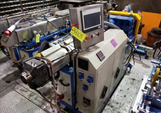"SIEMENS TOUCH LINE PLC 2"" SINGLE SCREW EXTRUSION LINE"