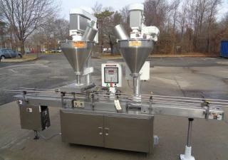 All-Fill Model Dha-400 Dual Head Automatic Powder Filling Machine