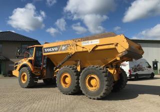 Volvo dump truck type A 30 G