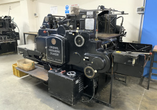 Heidelberg Cylinder Cutting Machine 54x72