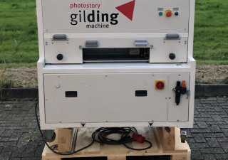 Photostory  Gilding  Edge gilding machine for books