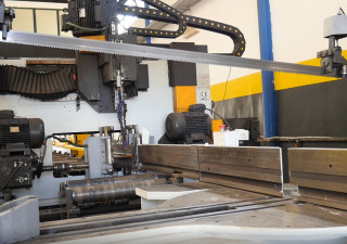 Used FICEP  603 DNB band saw for metal