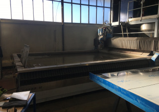 LDSA WJAII 40.30 1T 5X waterjet cutting machine