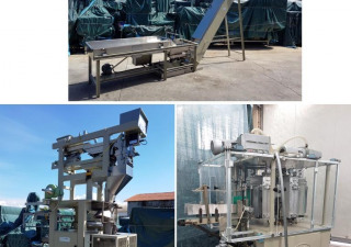 LONDON PACK / ICA    MOD. CV3 / PV3 - Vacuum packaging line for bags used