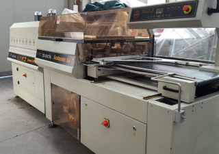 Minipack Torre SEALMATIC 56T + TUNNEL 50 TWIN Shrink wrap machine