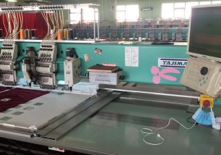Tajima TCMX-60915 15 heads embroidery machines