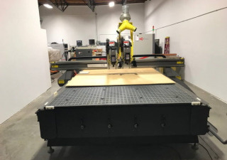 """Used 2008 Multicam 3000 Model 3-307, 80"""" X 193"""" Table"""