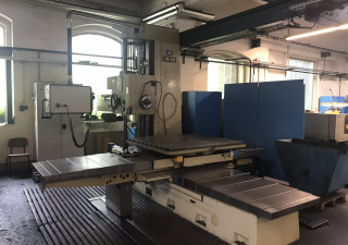 UNION BFT 90/5 Table Type Boring and Milling Machine (Retrofit 2002)