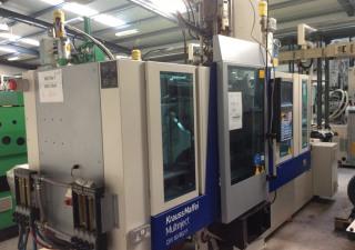 2010 KraussMaffei Multinject 80-180-55 CX V Moulding Machine